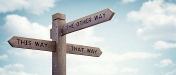 this way, that way, the other way